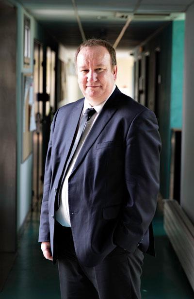 Christophe Giraud délégué régional au CNRS Midi-Pyrénées